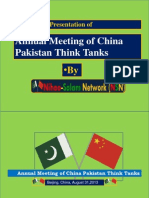 China Pakistan Cooperation Seminar Report by Nihao-Salam
