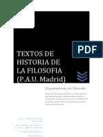 Textos Pau Historia de La Filosofia