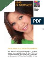"""""""Algunas preguntas sobre sexualidad y prevención"""" (Castellano) - UNAF"""