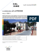 561-Prescriptions d'Isolement Acoustique Latresne PLU Approu