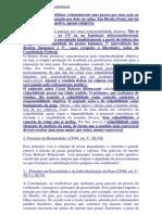 Principios Direito Penal 1 Segundo Semestre 2013