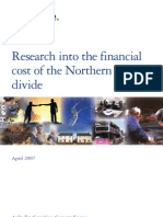 N Ireland's Segregated Society - Financial Costs