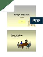 Apuntes 1 Riesgo Electrico 2013