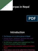 Sherpas of Nepal