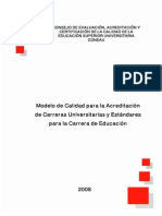 Modelo de Calidad Version Oficial Coneau