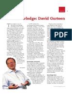 The Knowledge David Gurteen