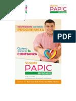 Vicente Papic Arce-Estudio Gestión Congreso Diputado Javier Hernández Hernández -Tercer Informe