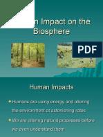 Lecture(Human Impact Environment)