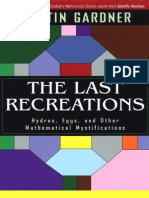 Martin Gardner the Last Recreations