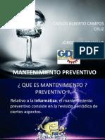 Mantenimiento Preventivo y Correctivo de Computadores - Estudiantes