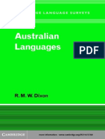 Australian Languages (Cambridge)