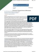 Developmental Fluoride Neurotoxicity a Systematic Review and Meta-Analysis