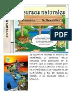 recusos naturales monografia
