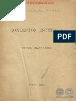 CONCEPTOS ESTETICOS - MITOS GUARANIES - ELOY FARIÑA NUÑEZ - PORTALGUARANI