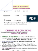 Chemical Equestion