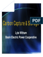 Carbon Capture and Storage