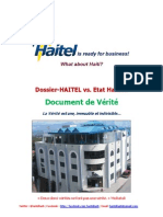 Document de VERITE de la HAITEL