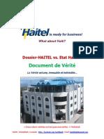 Document de VERITE de la HAITEL