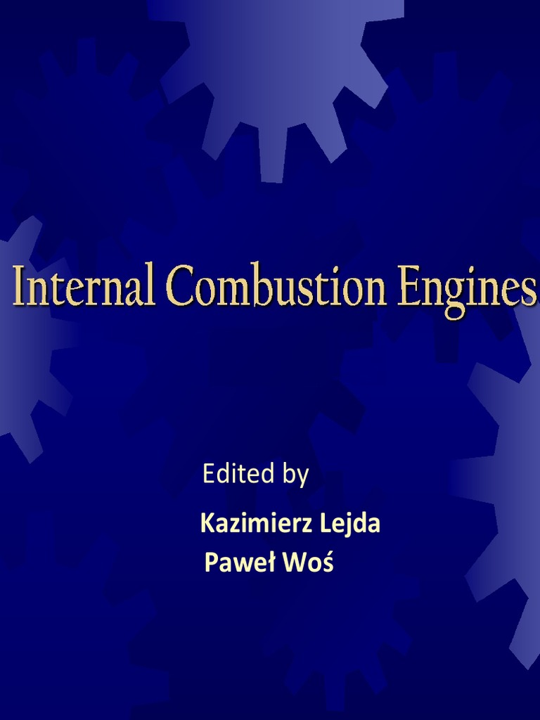 internal combustion engines essay