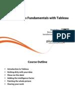 1 Data Analysis Fundamentals Tableau m1 Slides