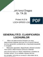 Loch Speed- Log