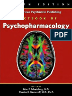 The American Psychiatric Publishing Textbook of Psychopharmacology 4th Ed