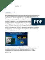 Pengertian Processor Intel Core i5