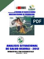 Analisis Situacional de Salud-Ucayali2012