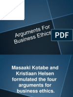Arguments For Business Ethics.pptx