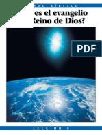 El Evangelio Del Reino de Dios- Iglesia de Dios Unida.