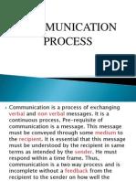 Communication Process Chapter 1