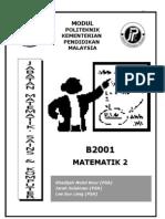 B2001_Matematik 2_UNIT0