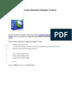 Serial Number Internet Download Manager Terbaru