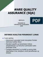 Software Quality Assurance (Sqa)[1]