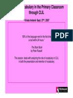 Teaching Vocab Clil