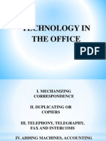 Technologies in the Office