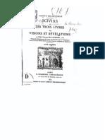 Hildegard de Bingen - les trois livres des visions / Scivias