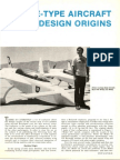 Rutan_Quickie - Type Aircraft Design Origins