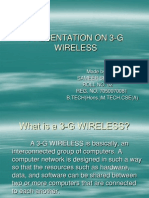 3 g Wireless
