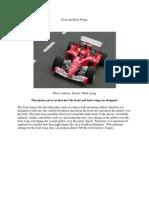 Race Car Aerodynamics of Wing