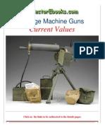 Vintage Machine Guns Current Values