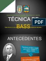 TÉCNICA DE BASS