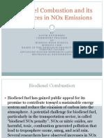 Biodiesel Combustion