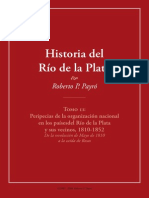 Historia Del Rio de La Plata Tomo 2