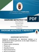 Sindrome Nefrotico y Nefritico Farmaco Coreccion