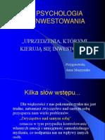 Uprzedzenia inwestorow.ppt