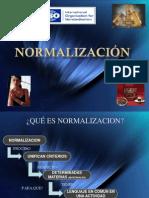 19 La Normalizacion