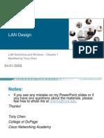Exploration LAN Switching Chapter1-TonyChen