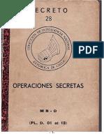 "DINA ""OPERACIONES SECRETAS"" Vol. 28"