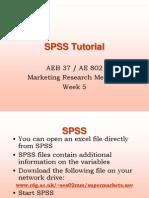 SPSS-week5